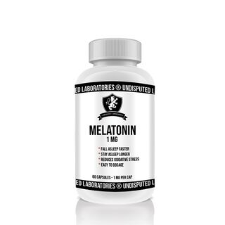 Undisputed Laboratories Melatonin 60 Kapseln