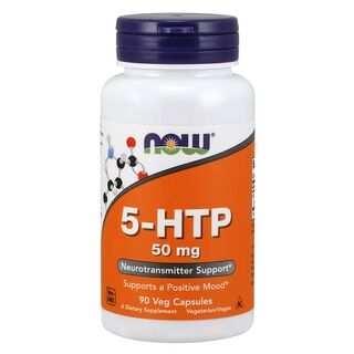 NOW Foods 5-HTP 50mg - 90 Kapseln