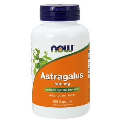 NOW Foods Astragalus 500 mg - 90 Capsules