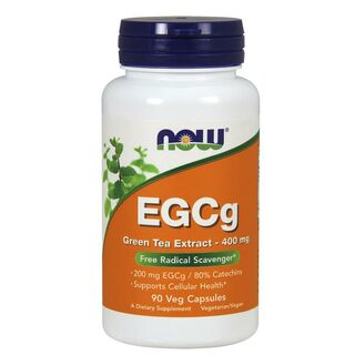 NOW Foods EGCg Green Tea Extract 400mg - 90 Kapseln