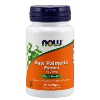 NOW Foods Saw Palmetto Extract 160 mg - 60 Capsules