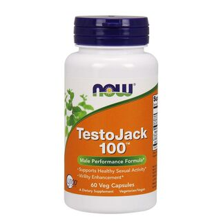 NOW Foods TestoJack 100 - 60 Capsules