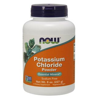 NOW Foods Potassium Chloride - 227g