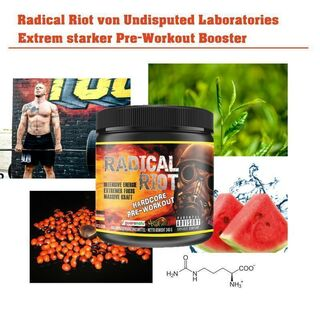 Undisputed Laboratories Radical Riot V3 Hardcore Version Pre Workout 340g