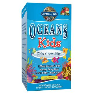 Garden of Life Oceans Kids DHA Chewables - 120 Softgels