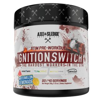 Axe & Sledge Supplements Ignition Switch 200g Watermelon Lemonade