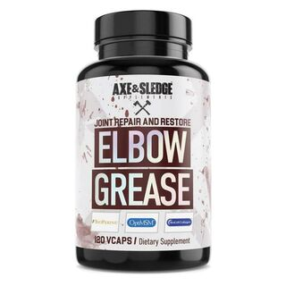 Axe & Sledge Supplements Elbow Grease 120 Capsules