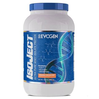 Evogen IsoJect Whey Protein Isolate - 840 g Stroopwafel