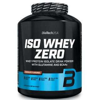 BioTech USA Iso Whey Zero 2,27 kg White Chocolate