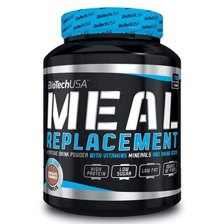 BioTech USA Meal Replacement Mahlzeitenersatz 750 g Chocolate