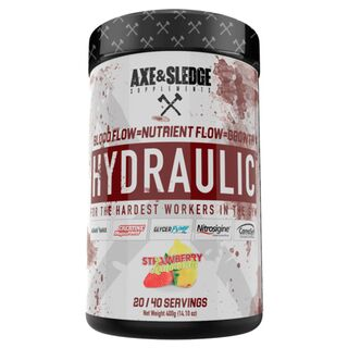 Axe & Sledge Supplements Hydraulic 380g Strawberry Lemonade