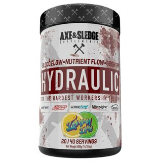 Axe & Sledge Supplements Hydraulic 380g Lemon Lime