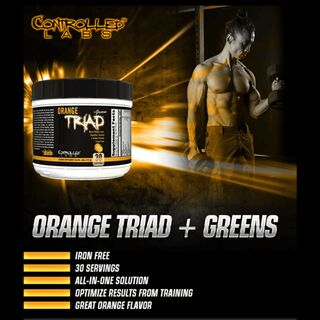 Controlled Labs Orange Triad + Greens 408 g