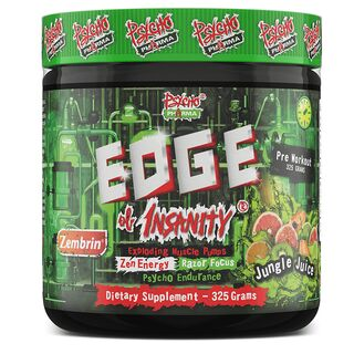 Psycho Pharma Edge of Insanity Pre-Workout 325 g Jungle Juice