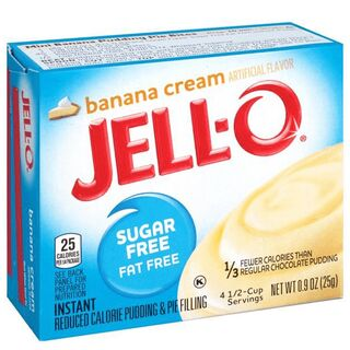 Jell-O Instant Pudding & Pie Filling Vanilla 28 g
