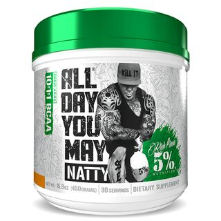 Rich Piana All Day You May Natty by 5% Nutrition 450 g Strawberry Lemonade