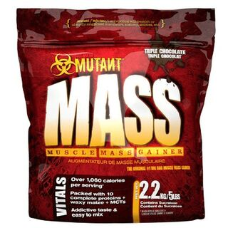 Mutant Mass 2200g Weight Gainer Vanilla Ice Cream