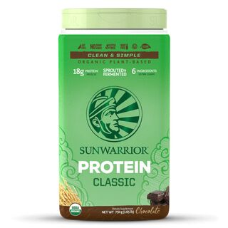Sunwarrior Classic Protein - 750 g Brown Rice Protein Chocolate