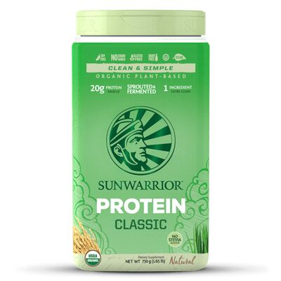 Sunwarrior Classic Protein - 750 g Brown Rice Protein...