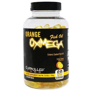 Controlled Labs Orange OxiMega Fish Oil 120 Kapseln Fischöl