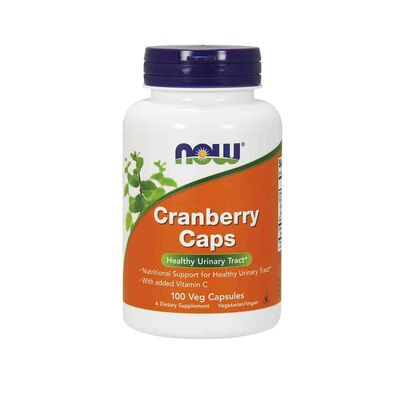 NOW Foods Cranberry Concentrate 1400 mg 100 Capsules