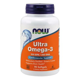 NOW Foods Ultra Omega-3 1000 mg