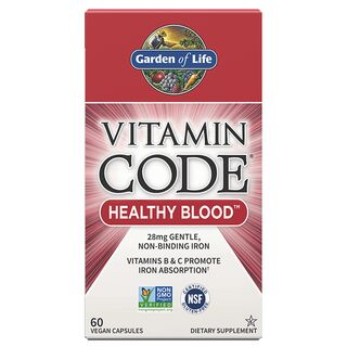 Garden of Life Vitamin Code Healthy Blood - 60 Capsules