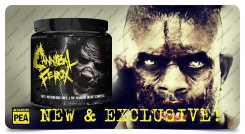 Chaos and Pain Cannibal Ferox Pre Workout kaufen Booster Test Erfahrung