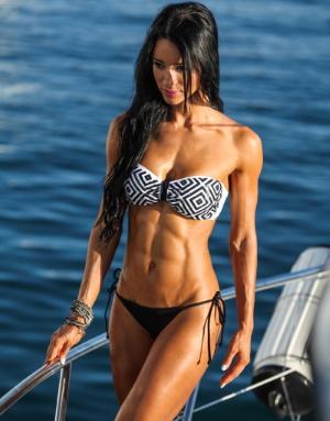 Alzira Rodriguez Female Fitness Instagram Facebook Body