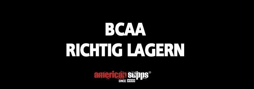 BCAA lagern