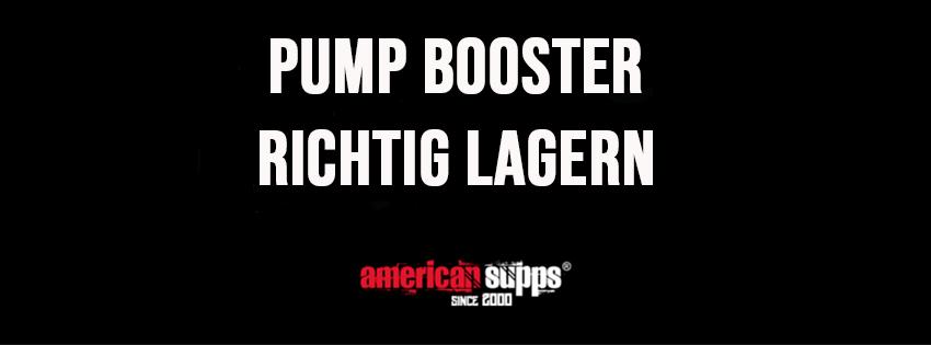 Pump Booster lagern