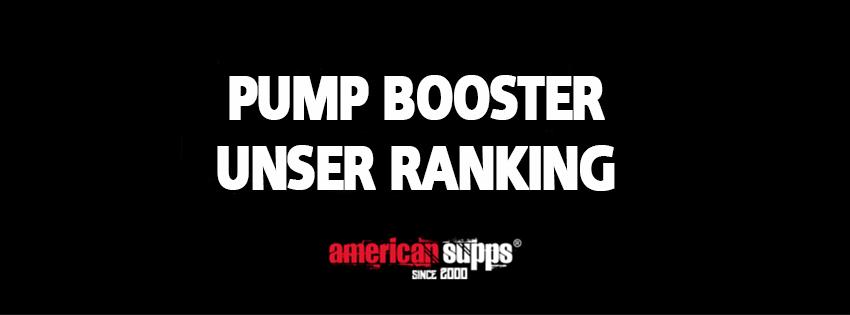 Ranking Bester Pump Booster 2019