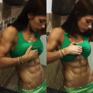 bodybuilding frauen mit sixpack