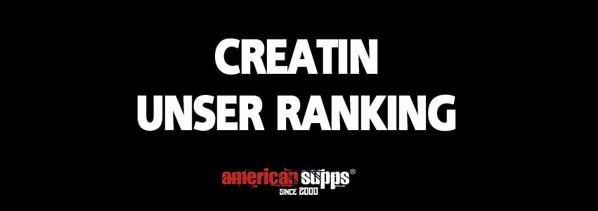 Ranking Beste Creatin 2019