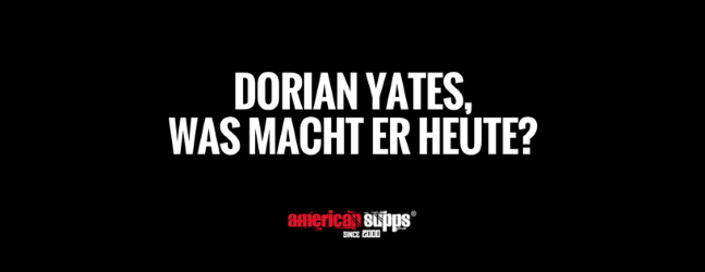dorian yates heute