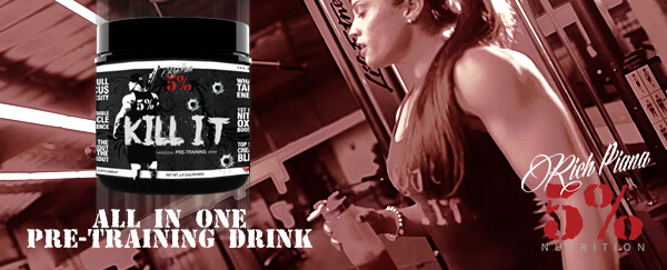 KILL IT Booster und Pre Workout american-supps