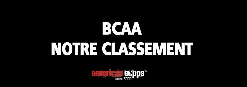 Classement meilleure BCAA 2019