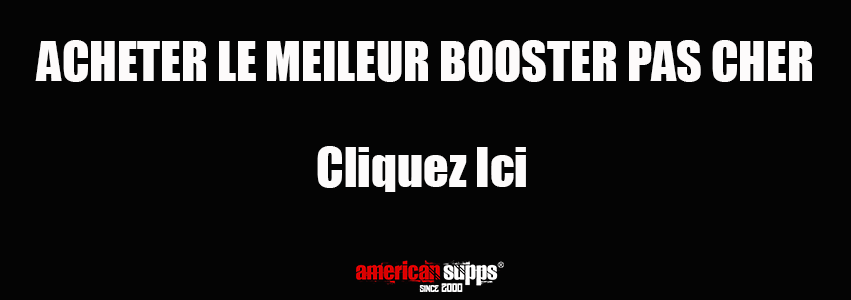 Bon pre workout booster où acheter le meilleur Booster 2019