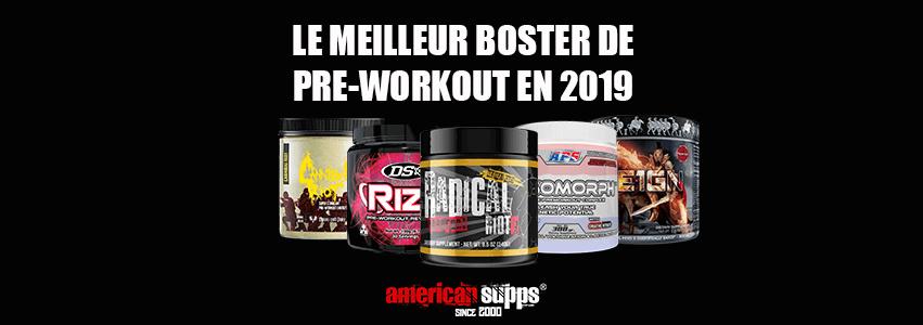 Meilleur Pre Workout Booster 2019