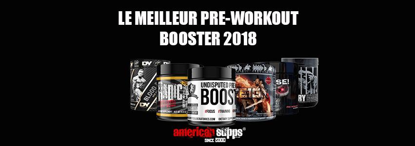 Meilleur Pre-Workout Booster 2018