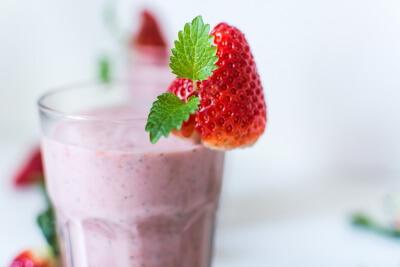 fitness rezept abnehmen Smoothie Proteinshake