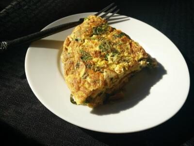 Thunfisch Omelett low carb rezept abnehmen fettabbau