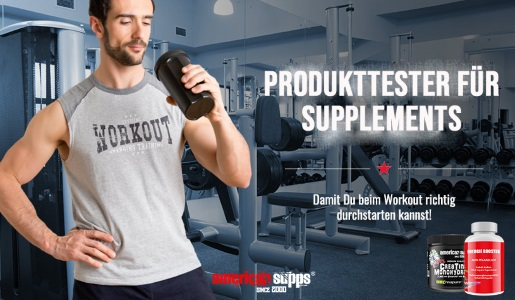 Produkttester für Supplements