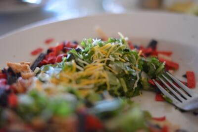 HUEHNCHENHACKFLEISCH-SALAT Lowcarb gesund abnehmen rezept fettabbau