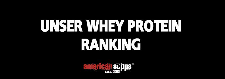 Ranking Beste Whey Protein 2019