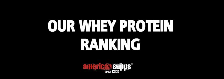 Ranking Best Whey Protein 2019
